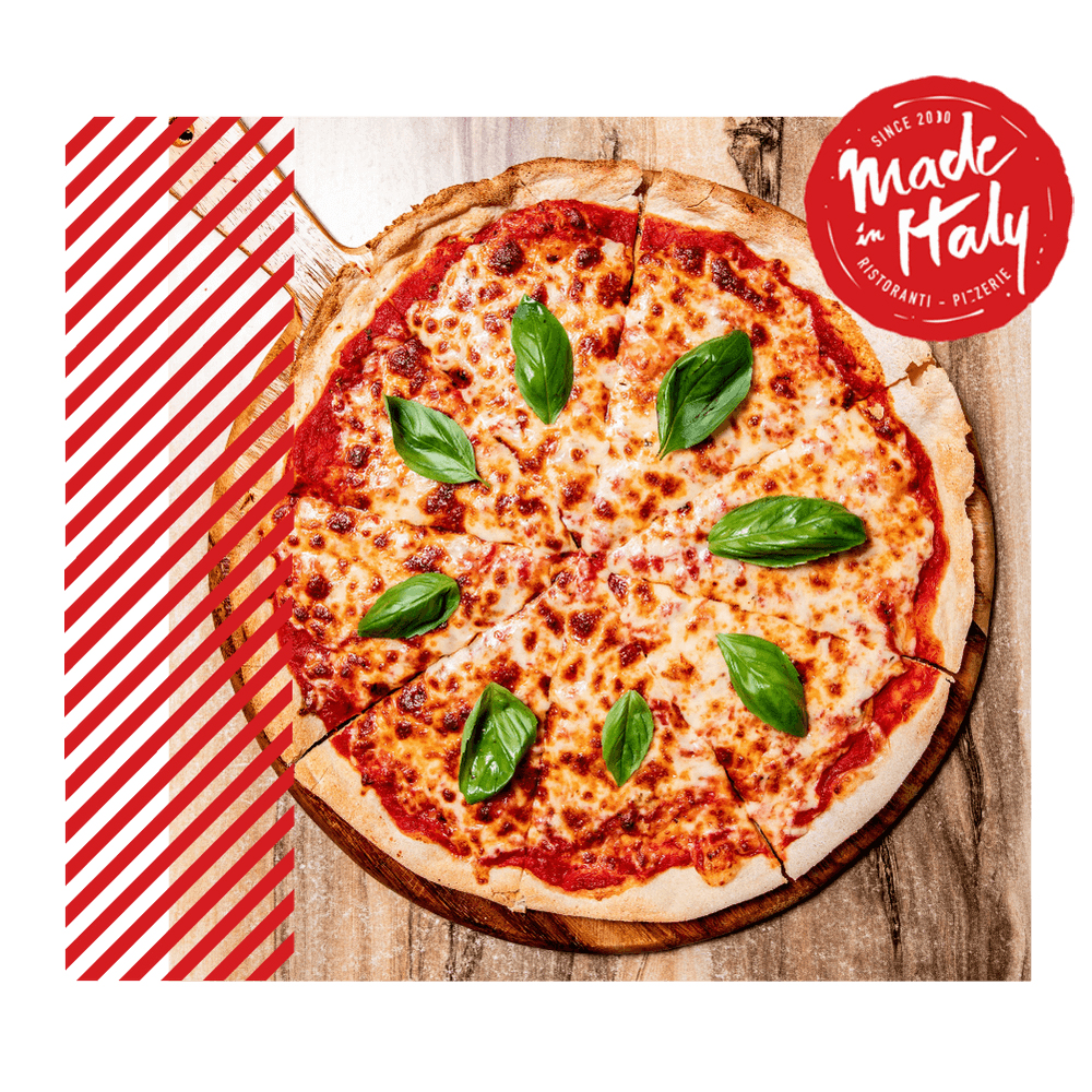 We deliver Italian pizza and pasta in Chiswick